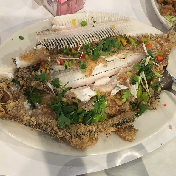 Whole Fried Fish @ Rose Garden