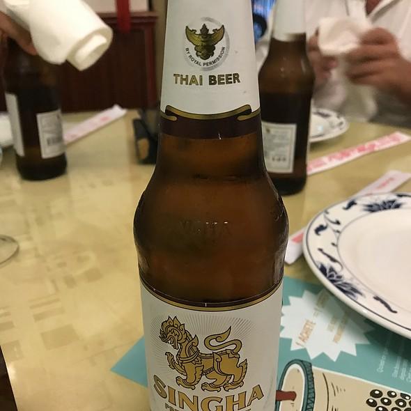 Singha Thai Beer