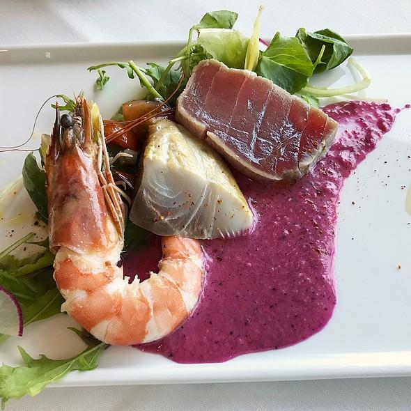 Hawaiian Seafood Salad @ 53 By the Sea