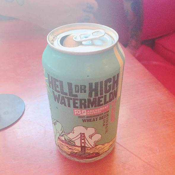 Hell Or High Watermelon Beer