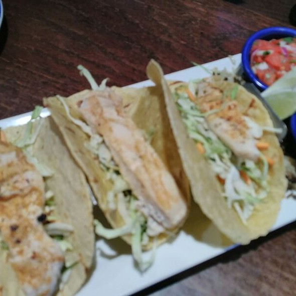Wood Grilled Chicken Tacos
