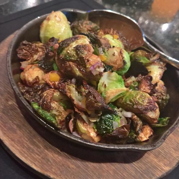 Crispy Brussel Sprouts @ jasper's gourmet backyard cuisine
