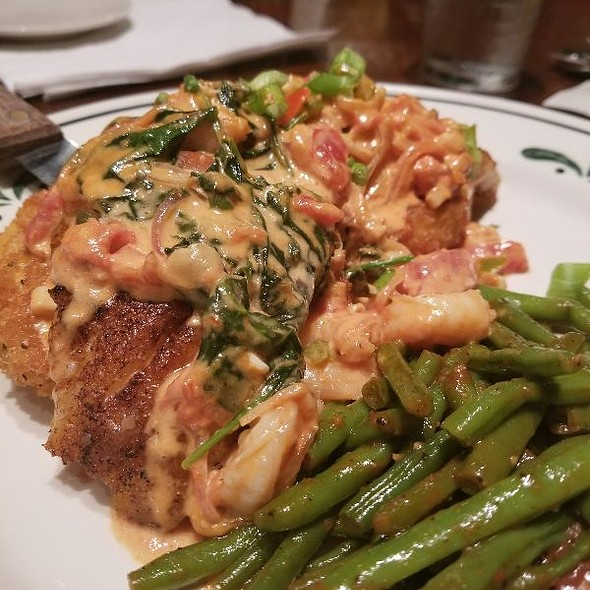 Red Snapper With Shrimp