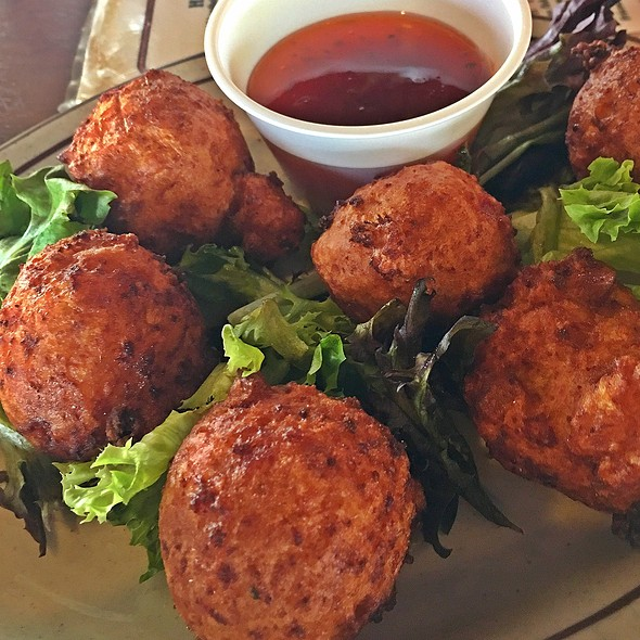 Conch Fritters @ The Sand Dollar Restaurant