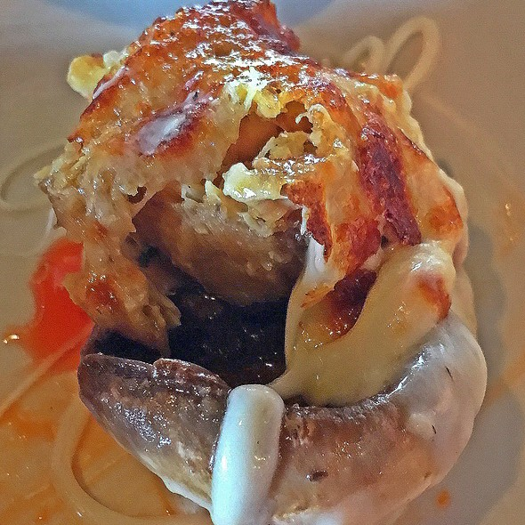 Crab Stuffed Mushroom @ The Sand Dollar Restaurant