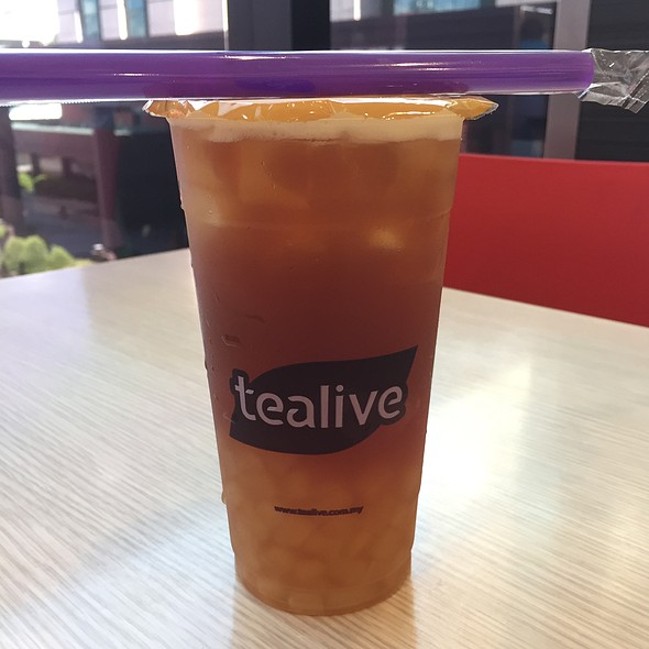 Lychee Black Tea With Aloe Vera