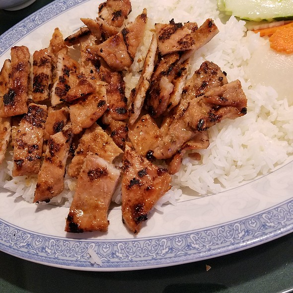 Grilled Pork And Rice