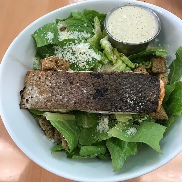 Salmon Caesar Salad @ Cafe 421