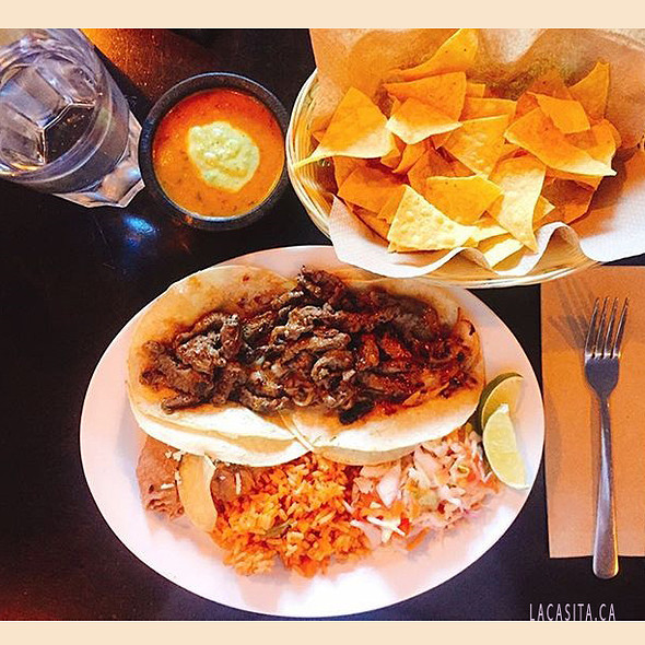 Mexican food in Vancouver BC @ La Casita Gastown