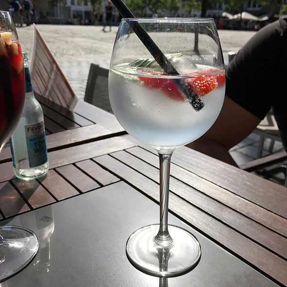 Gin Mare With Mediterranean Fever Tree Tonic