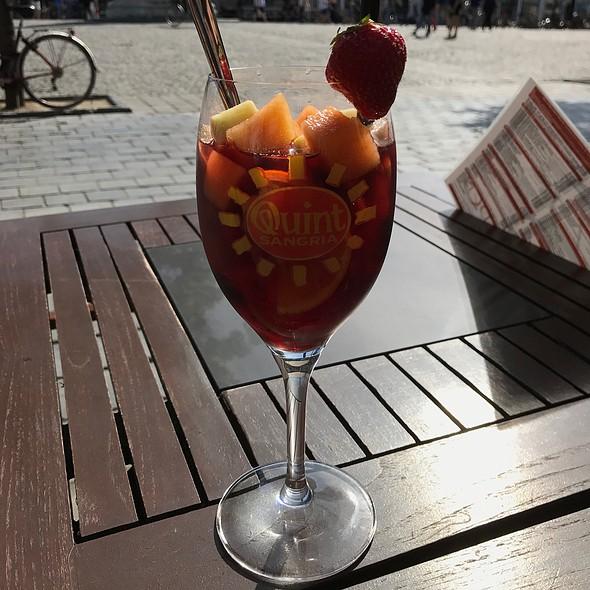 Sangria With Fresh Fruit @ Eden