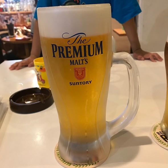 生ビール プレミアムモルツ @ ウミガメ食堂