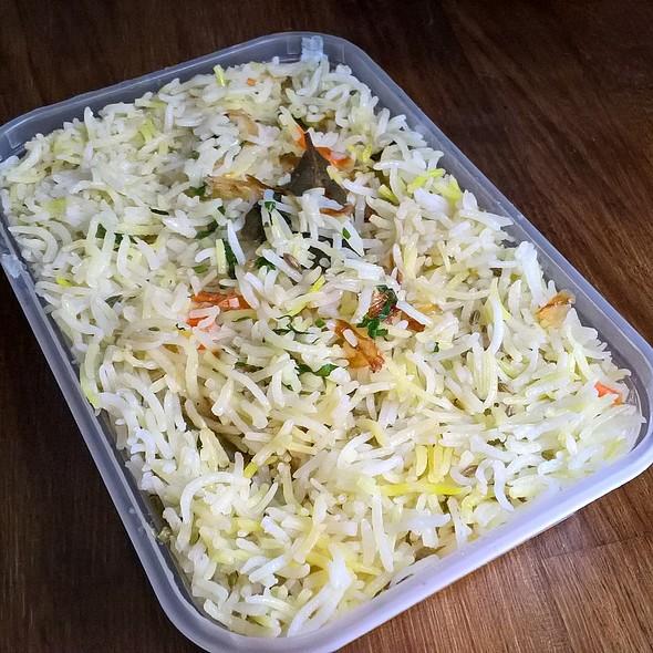 Vegetable Biryani @ Red Chilliezs