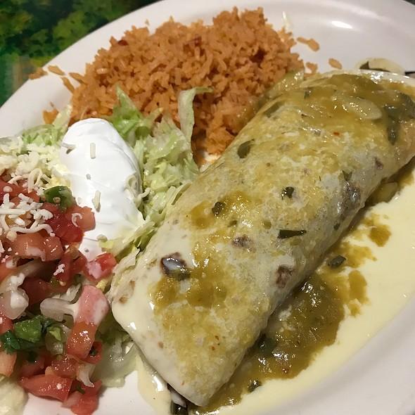 Green Burrito @ Mi Patria Mexican Restaurant