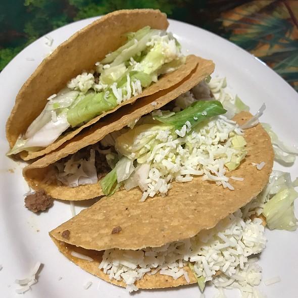 Crispy Beef Tacos @ Mi Patria Mexican Restaurant