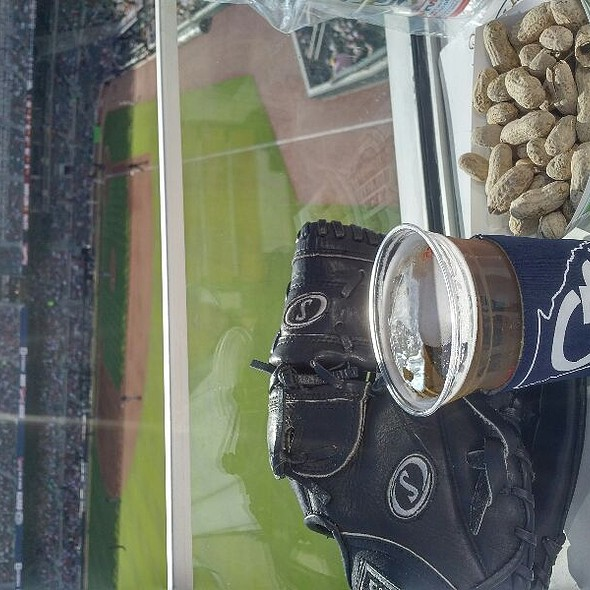 Cold Beer, P~nuts & / Glove