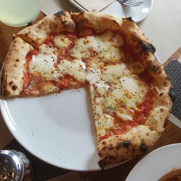 Four Cheese Pizza @ Gino's Brick Oven Pizza