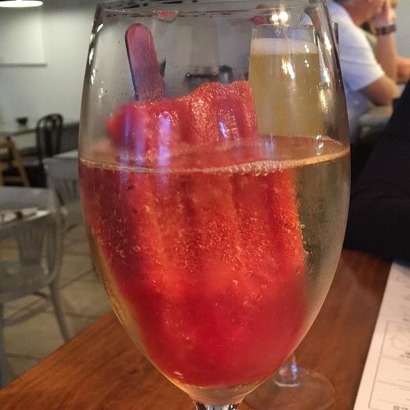 Raspberry Champagne Pop @ George Artisan Bakery & Bistro