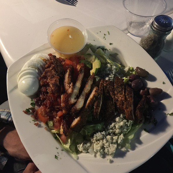 Cobb Salad With Blackened Chicken