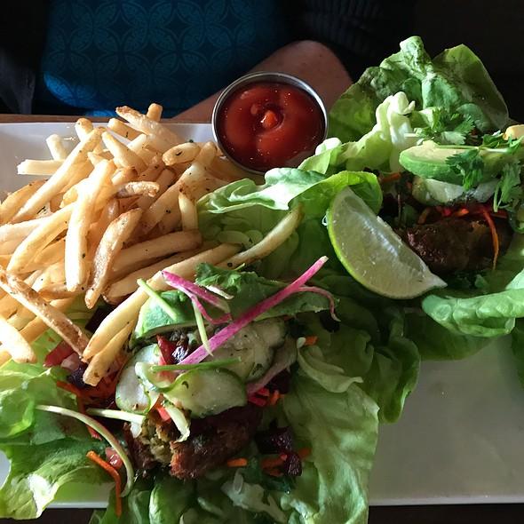 Falafel Tacos @ Eureka! Burger