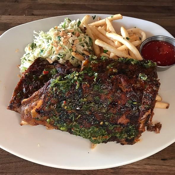 Slow roasted pork ribs @ Eureka! Burger