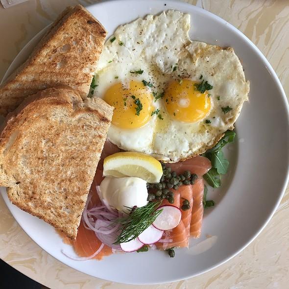 Salmon Platter @ Cafe Trois
