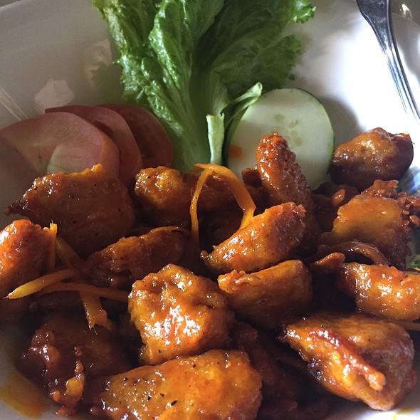 Vegetarian Orange Chicken
