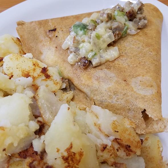 Mediterranean Breakfast Crepe