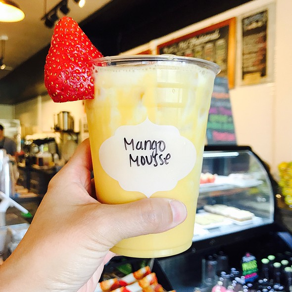 Mango Mousse Tea @ Teaquation