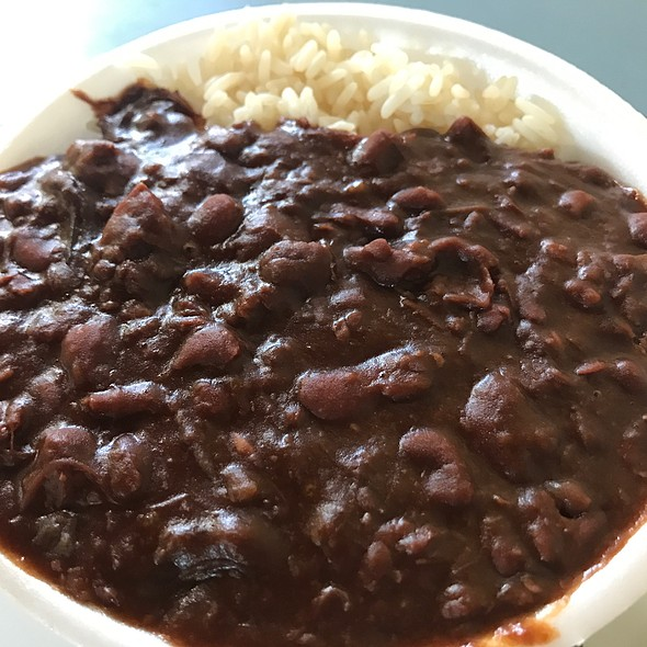 Red Beans and Rice @ The Gumbo Pot