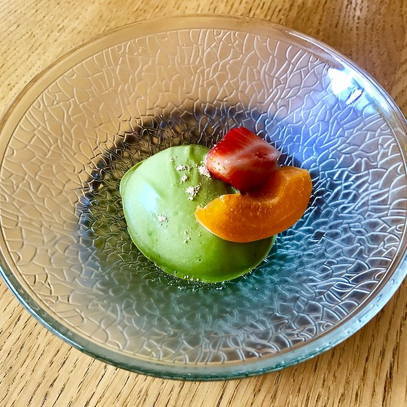 green tea icecream @ Kamo
