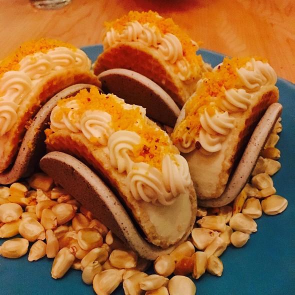 Corn Ice Cream Tacos @ Empellón