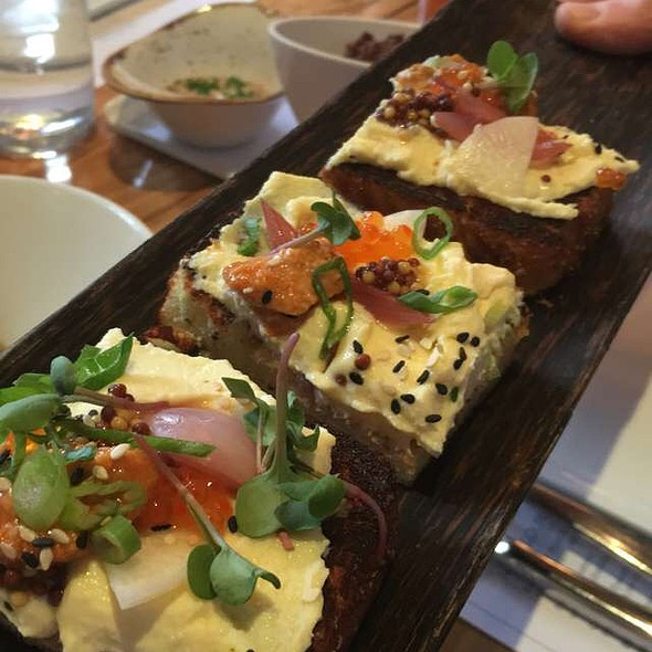 Egg Toast @ Mistral Princeton