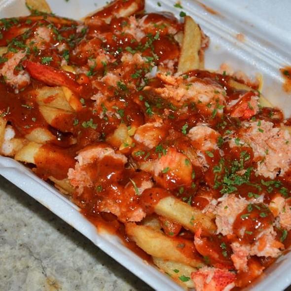Lobster Jerk Fries