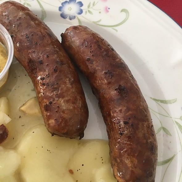 bavarian bratwurst