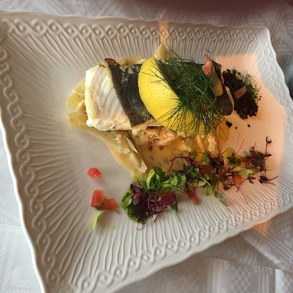 Halibut With Lobster And Fennel