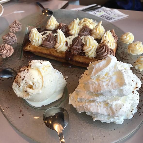Tiramisu Belgian Waffle