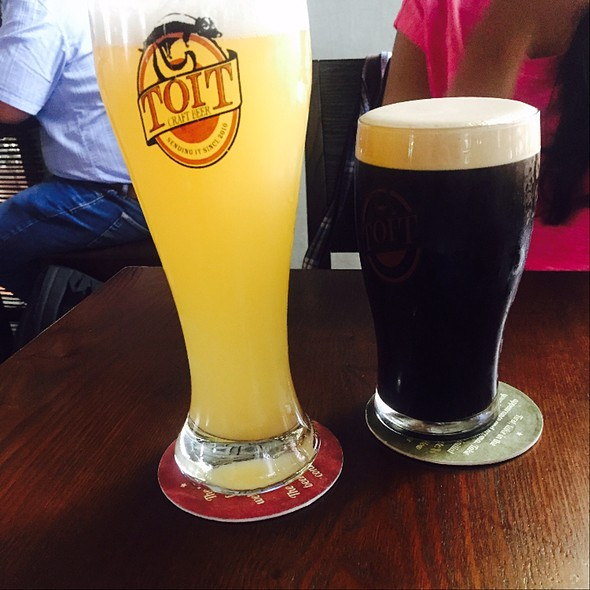 Belgian Witbier (White Beer) And Dry Stout