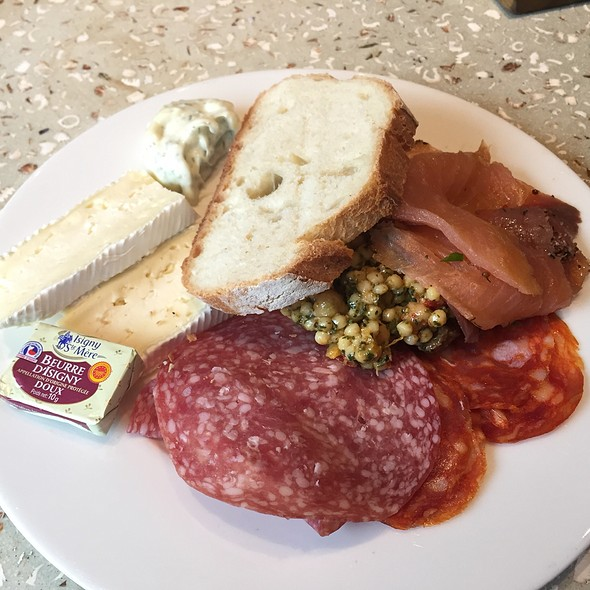 Cured Meat And Fish Plate @ Virgin Atlantic Clubhouse