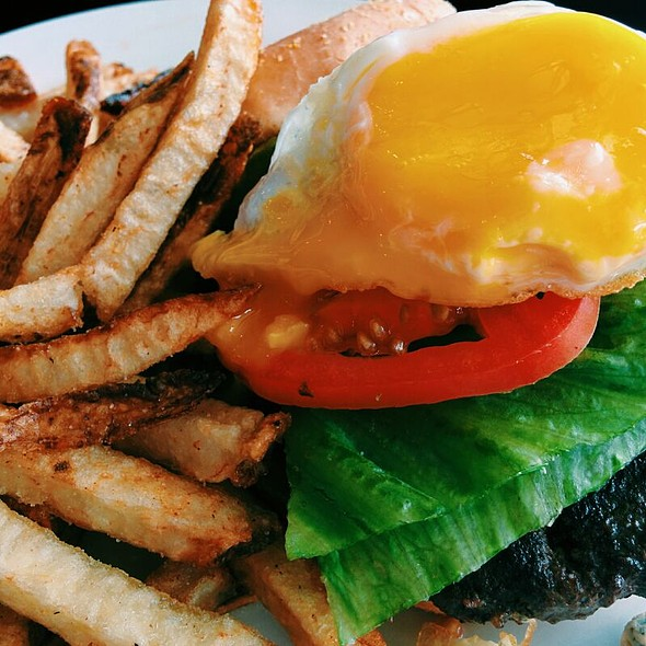 The Black and Bleu Burger @ Urban Kitchen & Deli