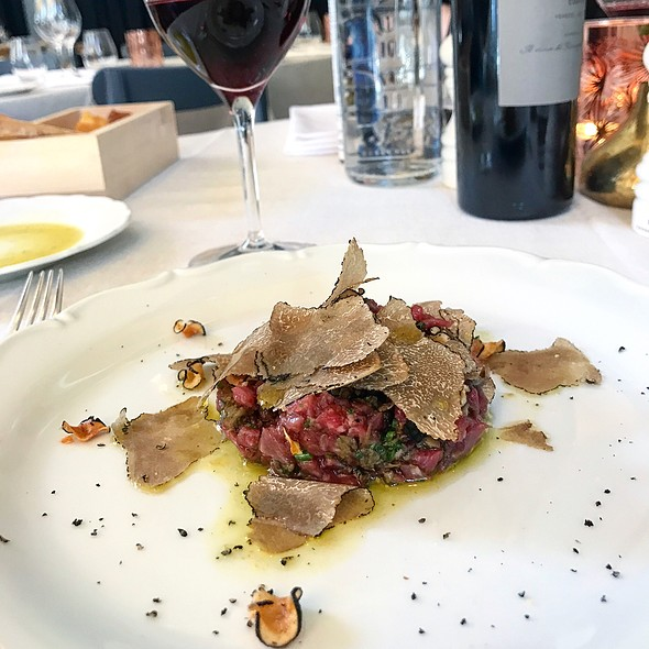 Northern Italian Steak Tartare @ La Bocca