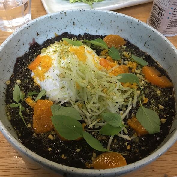 Black Sticky Rice Porridge