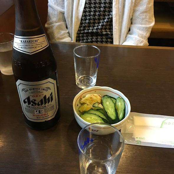 瓶ビール @ 辰悦