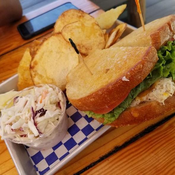 Crab Melt @ New England Lobster Market & Eatery