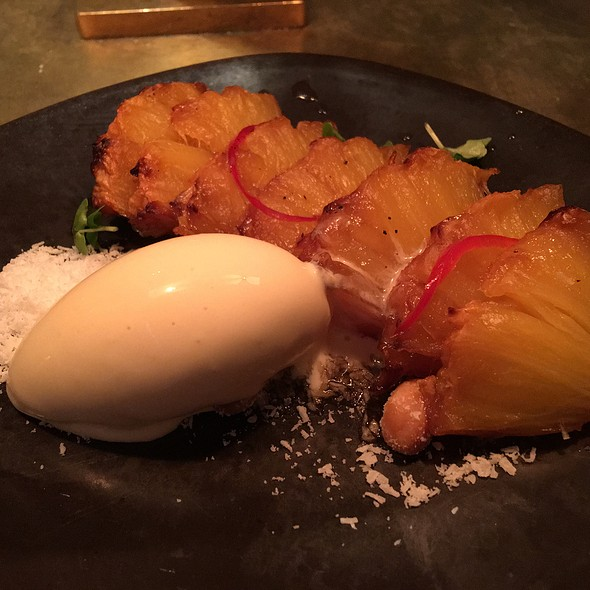 Roasted Pineapple Macadamia And Coconut Ice Cream