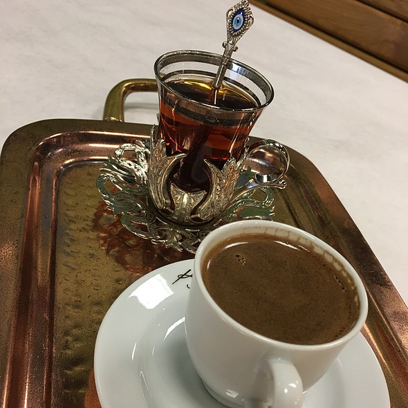 Turkish Tea and Coffee @ Nalan Sultan Mediterranean Grill