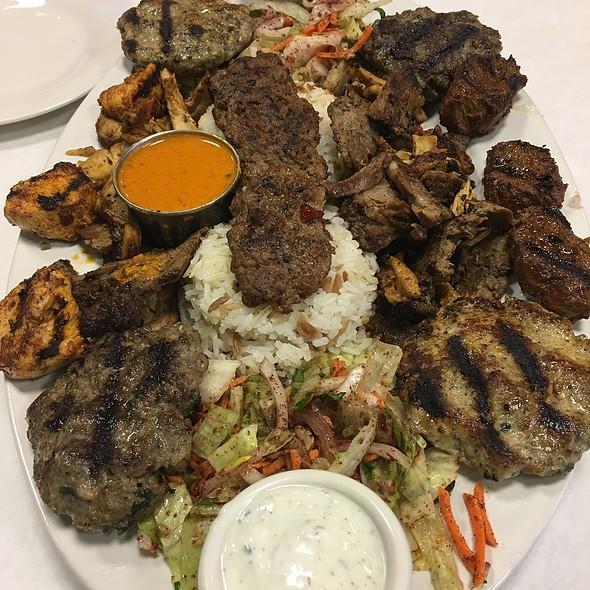 Mixed Grill @ Nalan Sultan Mediterranean Grill