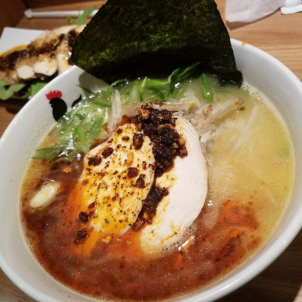 Spicy Ramen With Extra Chasiu