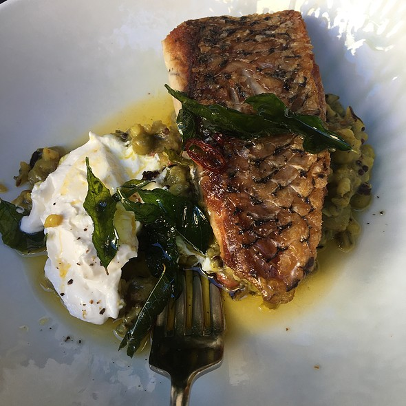 Pan Fried Cone Bay Barramundi With Vegetable Kedgeree, Curry Leaves And Chilli Burnt Butter And Yoghurt
