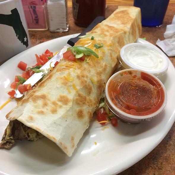 Cowboy Burrito Omelette